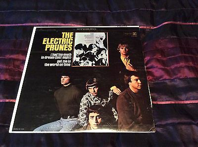 The Electric Prunes Lp Same Usa  Original Stereo Very Nice  Copy Excellent+