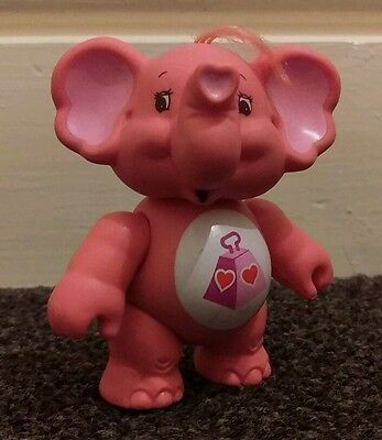 1980's Care Bear Cousins figurine - Lotsa Heart Elephant