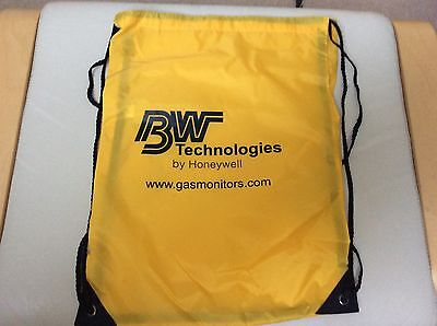 3 x Yellow Drawstring bags