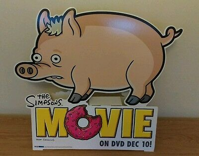 Simpsons Movie Spider-Pig Cardboard Figure