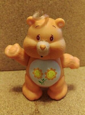 1980's Care Bear figurine - Friend Bear