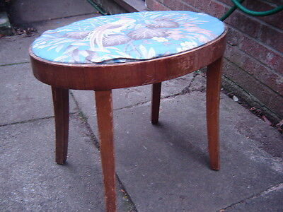 Antique Oval Stool