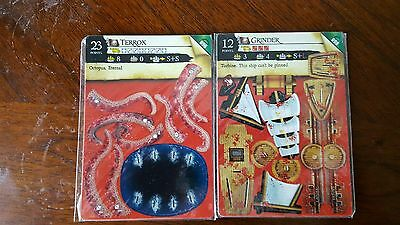 Wizkids Pirates CSG Lot of two new ships Terrox 098 Monster, Grinder 098 Turbine