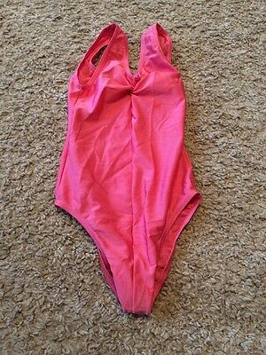 Girls Dance Leotard Pink, Size 2 Age 3-5 Years approx