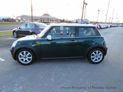 2010 Mini Cooper 2dr Coupe 2dr Coupe Low Miles Manual Gasoline 1.6L 4 Cyl British Racing Green metallic