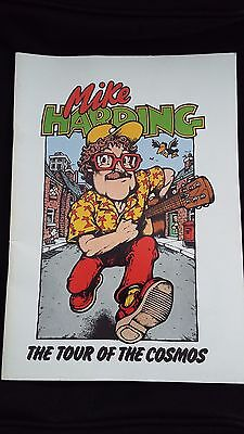 Mike Harding 1982 Tour of the Cosmos Brochure/Programme.