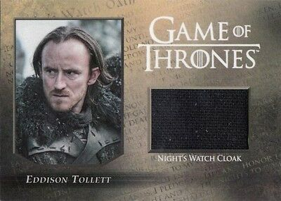 Game Of Thrones Season Five Eddison Tollett Night's Watch Cloak Relic Card/250