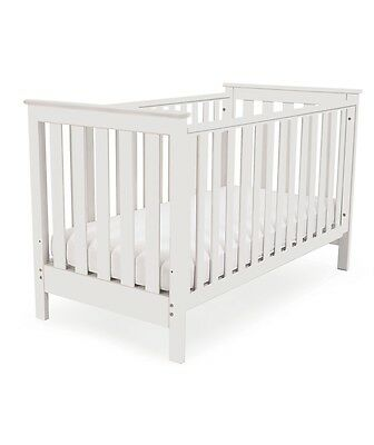 Mothercase Jamestown White Cot Wood