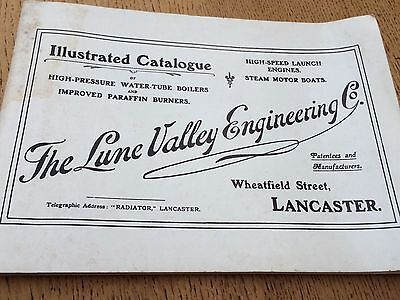THE LUNE VALLEY ENGINEERING Co - Vintage ILLUSTRATED CATALOGUE 1907/1974 Reprint