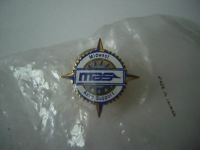Midwest Aero Support Lapel Badge/Pin