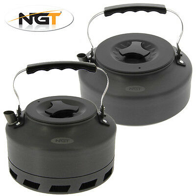 NGT Durable & Lightweight Camping / Fishing Kettles – 1.1L, 1.5L & Fast Boil