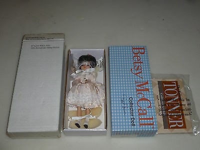 New In Box Betsy Mccall Collector Doll 50Th Anniversary Nib Signed Robert Tonner