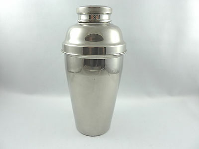 Large exceptional French ART DECO Cocktail Shaker chromed metal