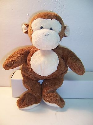 Ty Pluffies - Dangles The Monkey - 2007 - Brown / Sewn Eyes - Vgc