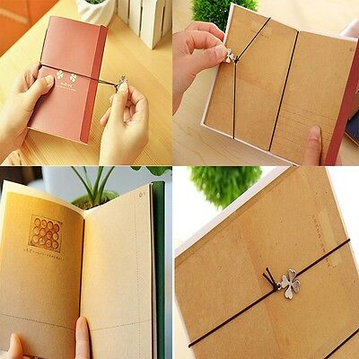 Journal Classic New Pocket Vintage Retro Craft Notebook Paper Memo Travel
