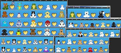 Webkinz Account With Many Rare Signatures & Estore Pets - 53 Total Pets
