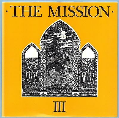 """The Mission - III (Stay With Me / Blood Brother) 7"""" Single (1986) Mercury MYTH1"""