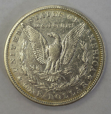 1889 S About Uncirculated Morgan Dollar