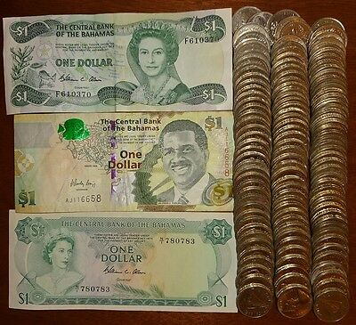 Lot For Collection Or Exchange Bahamas 34.50 Dollars Face !!!!