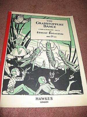 The Grasshoppers Dance Vintage Sheet Music