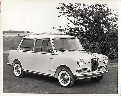 Wolseley Hornet Side Front View, Photograph.