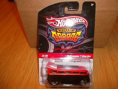 Hotwheels Rare Phils Garage Volkswagen T1 Drag Bus Alloys And Rubber  Tyres ,,