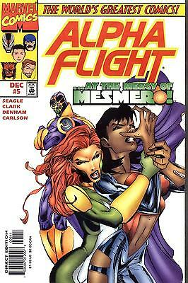 Alpha Flight #5 (1997, Marvel) vf comic book
