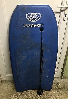 Mike Stewart Procomp Body Board Inc Leash Great Condition