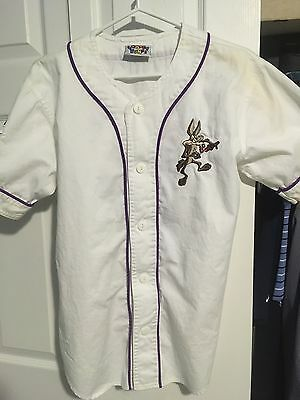 Looney Tunes Baseball Jersey. Roadrunner Coyote. 1993