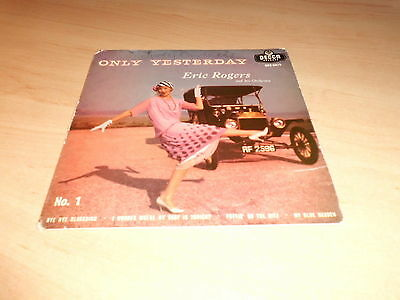 """Eric Rogers & Orchestra Only Yesterday 4 Track Ep  Vinyl 7""""  Single Pic Sleeve"""