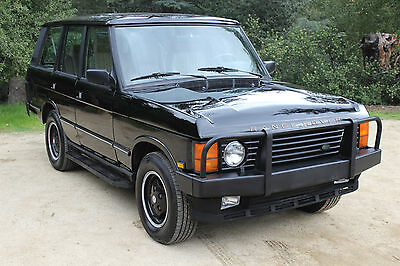 1989 Land Rover Range Rover County 1989 Range Rover Classic FULLY SERVICED ONE OWNER TIME WARP RUST FREE TRUCK!