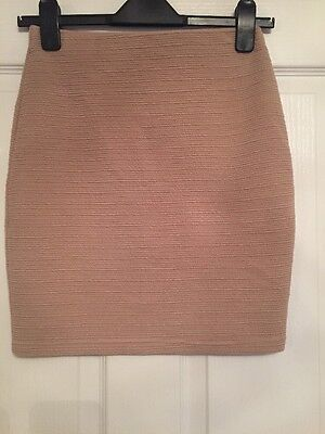 New Look Skirt Nude Size 10