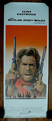 The Outlaw Josey Wales original US Insert poster 1976 (Clint Eastwood)