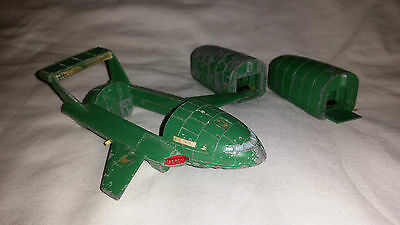 Dinky Toys 101 Thunderbird 2 & Spare Pod for restoration