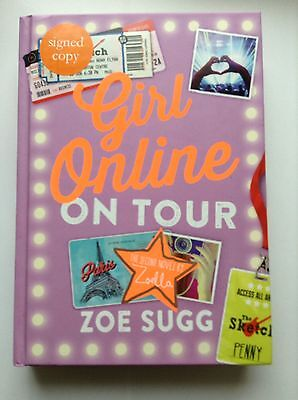 *SIGNED copy* Girl Online on tour book by Zoe Sugg Zoella