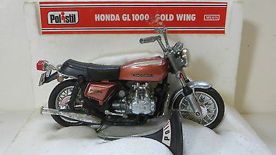 HONDA GL1000 GOLDWING MOTORCYCLE  - 1970's POLISTIL 1:15 SCALE HIGHLY DETAILED