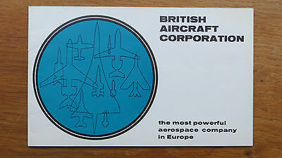 British Aircraft Corp. Aircraft & Guided Weapons Booklet - Concorde, Vc10 Etc