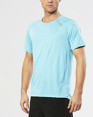 NEW 2XU Ghst Short Sleeve Top Mens Shirts