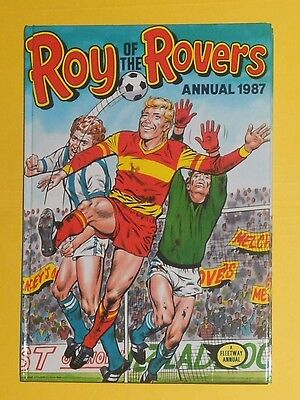 Roy Of The Rovers Comic Football  Annual 1987