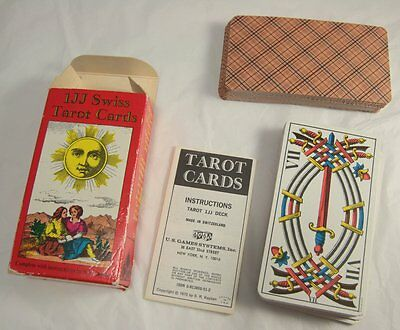 VIntage 1JJ Swiss Tarot AGMuller Complete with booklet