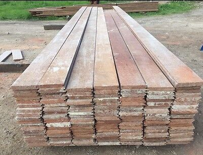Recycled Keruing Floorboards, Hardwood From South East Asia 108 X 19mm