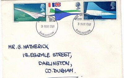 1969 Concorde Fdc From Collection 6B/23