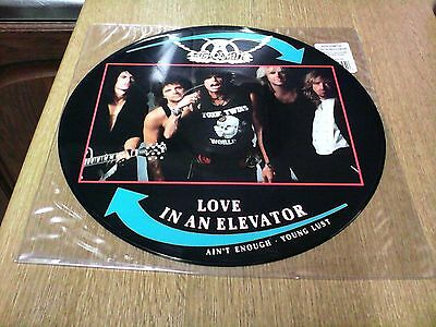 """Areosmith 12"""" Picture Disc Love In An Elavator"""