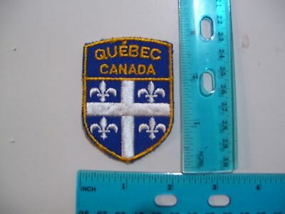 embroidered patch QUÉBEC CANADA