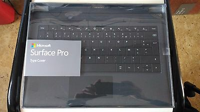 Clavier Original Microsoft Surface PRO 3 Type Cover Noir/Black AZERTY NEUF