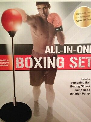 NEW All in One boxing set brand new in BIG box!!!! NICE!!!! ����������