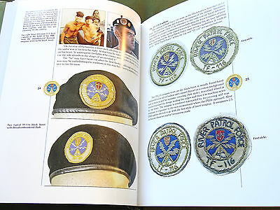 """""""river Patrol Insignia"""" Us Vietnam Brown Water Navy Pbr Seal Reference Book Mint"""