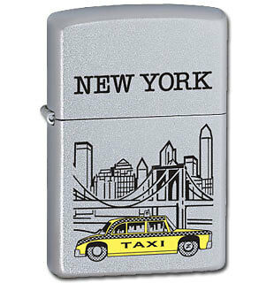 Zippo Lighter New York Taxi made in USA new with box issue 10
