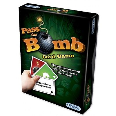 Pass The Bomb Card Game Brand New