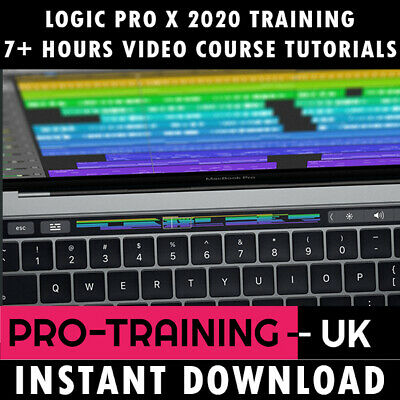 Apple Logic Pro X Professional Video Training Tutorial 8+ Hrs - Instant Download